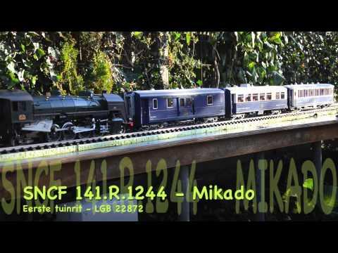 20121211 - Tuinrit met de SNCF 141.R Mikado (LGB 22872)