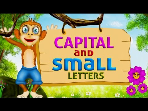 Learn english capital letters and small letters | English Alphabets for Kids | Easy to learn ABCD