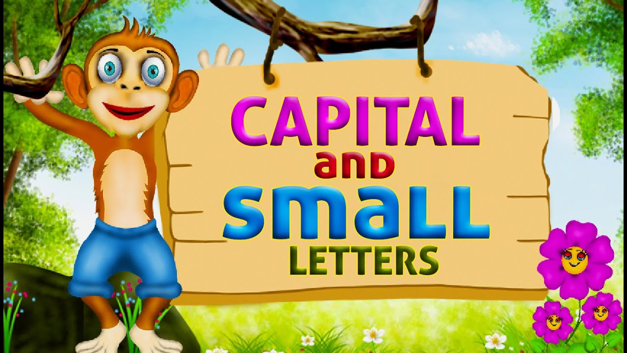 Learn english capital letters and small letters | English ...