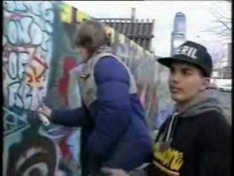 Back in the day Part 1 - Old Melbourne Graffiti news clips