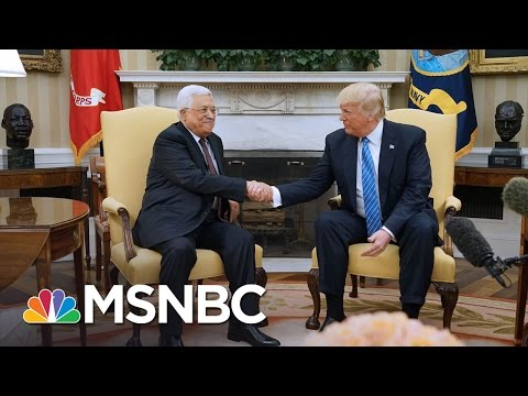 President Trump: Middle East Peace 'Maybe Not As Difficult' As People Think | The 11th Hour | MSNBC