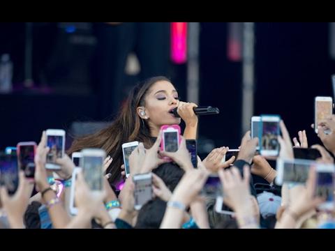 Ariana Grande - Dangerous Woman (Live Jimmy Kimmel)