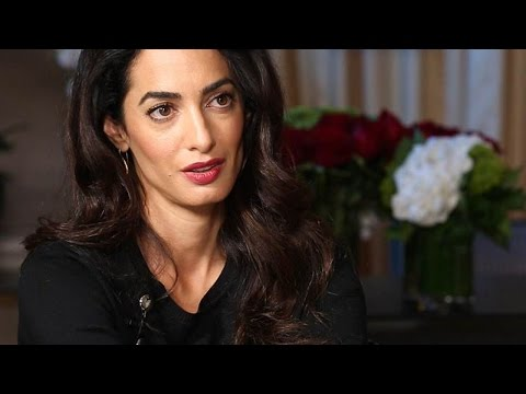 Why Amal Clooney Is Suing ISIS