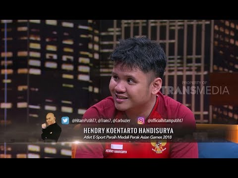 Hendry 'Jothree', Atlet E-Sport Peraih Medali Perak Asian Games 2018 | HITAM PUTIH (17/09/18) 1-4