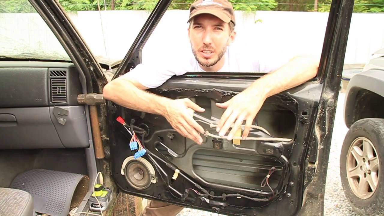 How To Remove Replace A Window Regulator Youtube