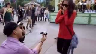 Repeat youtube video Best Wedding Proposal   Marry You  Flashmob