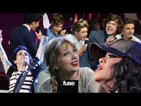 2012 MTV VMA Performers - Rihanna, One Direction, Green Day, Taylor Swift