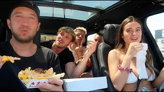 THE NIGHT SHIFT: in-n-out couples mukbang