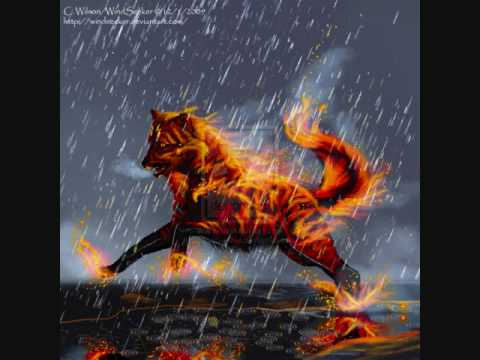 Wolf Of Fire fire wolves - Y...