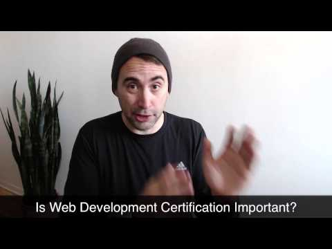 Is web certification required?