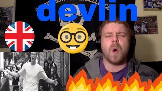 Devlin-  Community Outcast (OFFICIAL VIDEO)REACTION!!! I NEED MORE UK SUBS!!(NERDY WHITE GUY)