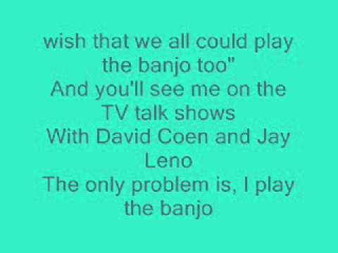 Ryan shupe  Banjo boy lyrics