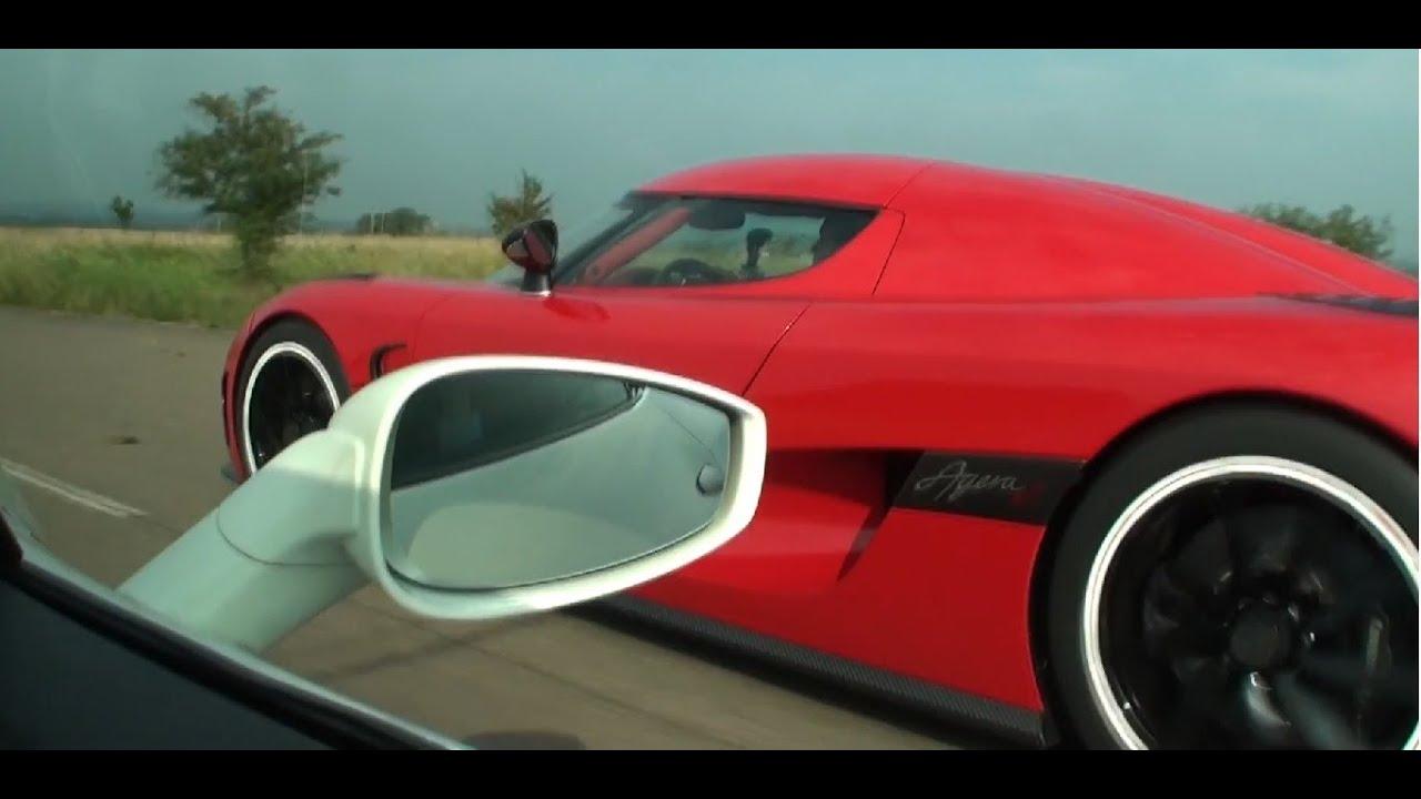 Koenigsegg Agera R Vs Ferrari 458 Italia Interiour View Race 1