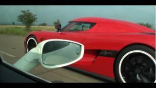 Repeat youtube video Koenigsegg Agera R vs Ferrari 458 Italia Interiour view (Race #1 from Ferrari)
