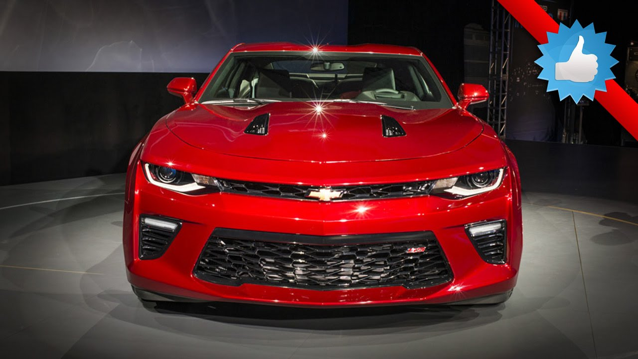 All New 2016 Chevrolet Camaro Sports Car   YouTube