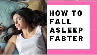 7 mind tricks to help you fall asleep faster