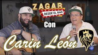 Zagar desde el bar con Carin Leon