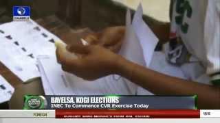 News Across Nigeria: INEC Commences Voters' Registration In Bayelsa, Kogi -- 02/09/15