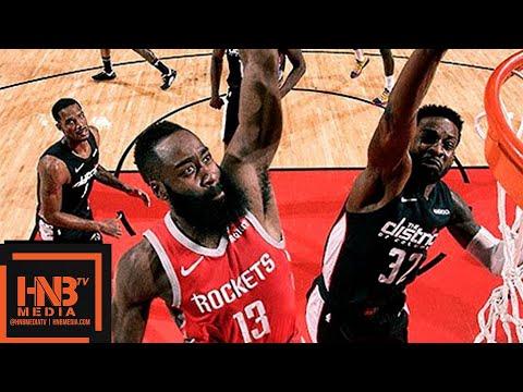 Houston Rockets vs Washington Wizards Full Game Highlights | 12.19.2018, NBA Season