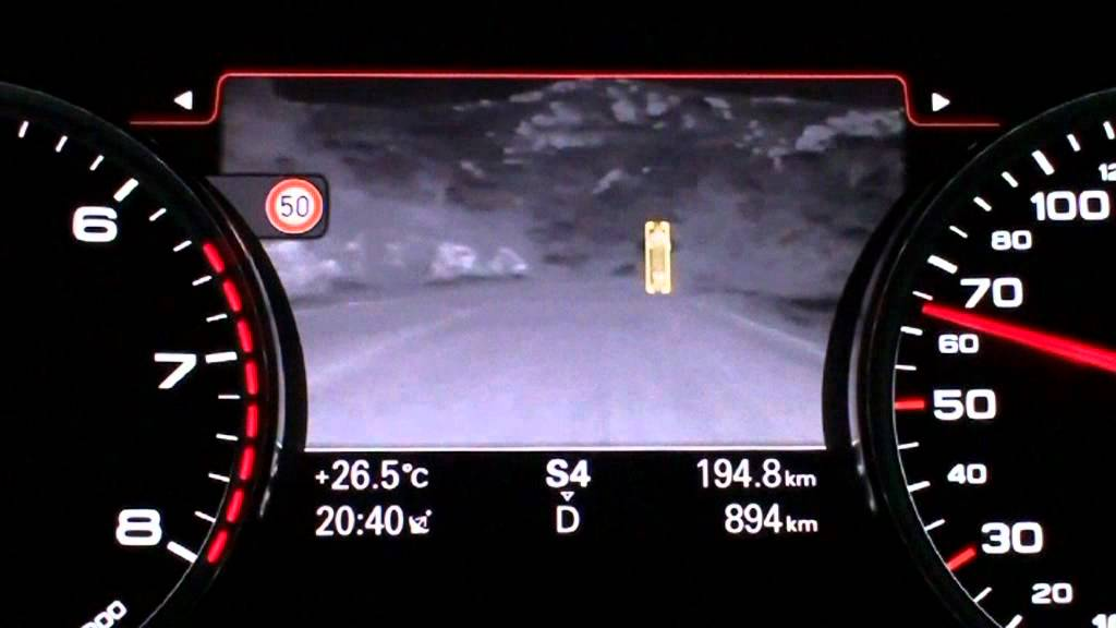 Audi A7 Sportback Night Vision Assistant Youtube