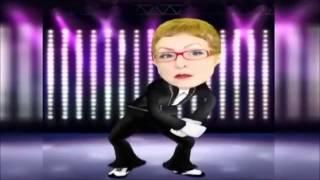 Fadiha President Bouteflika et Les Politiciens Danse dans un Disco 2013.