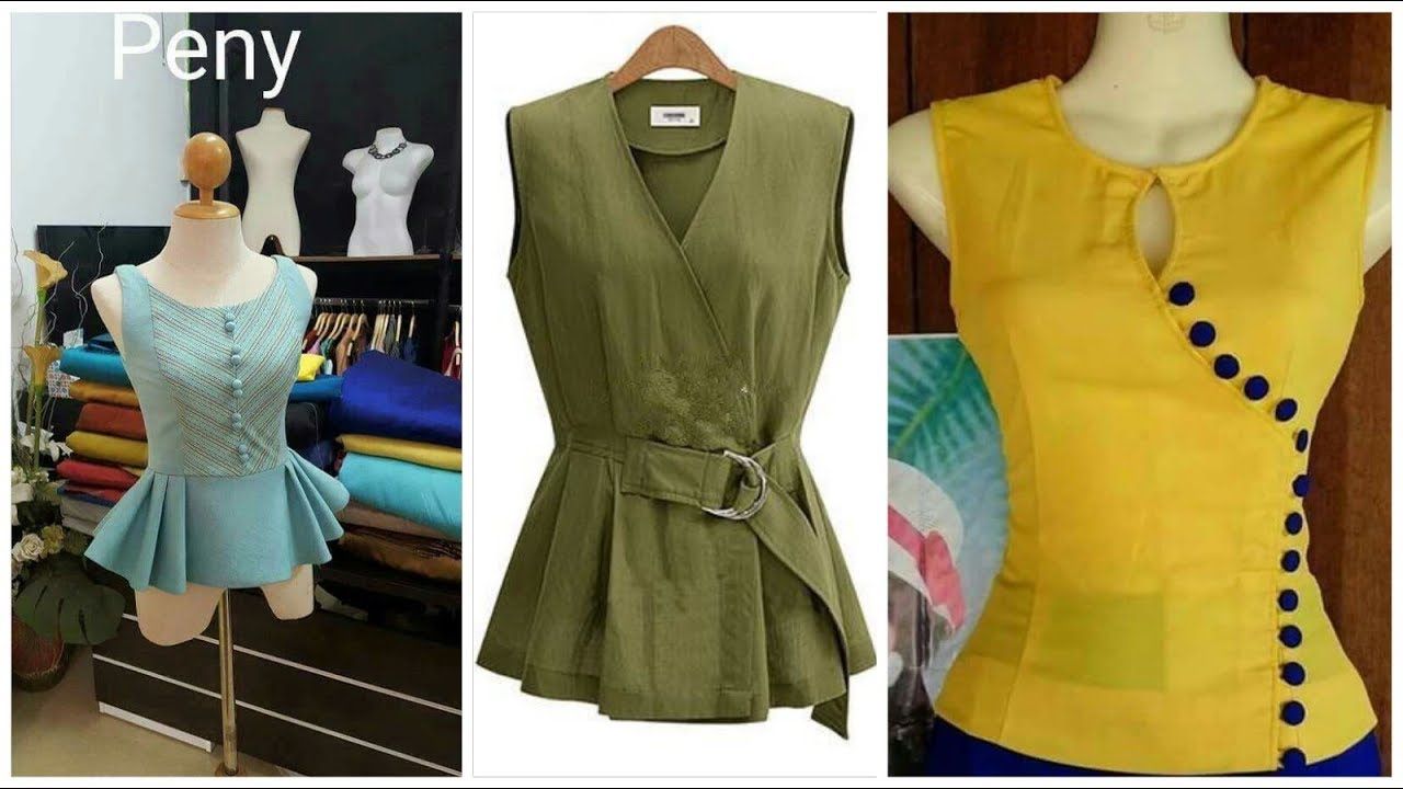 Latest Beautiful Styles Of Casual Tops