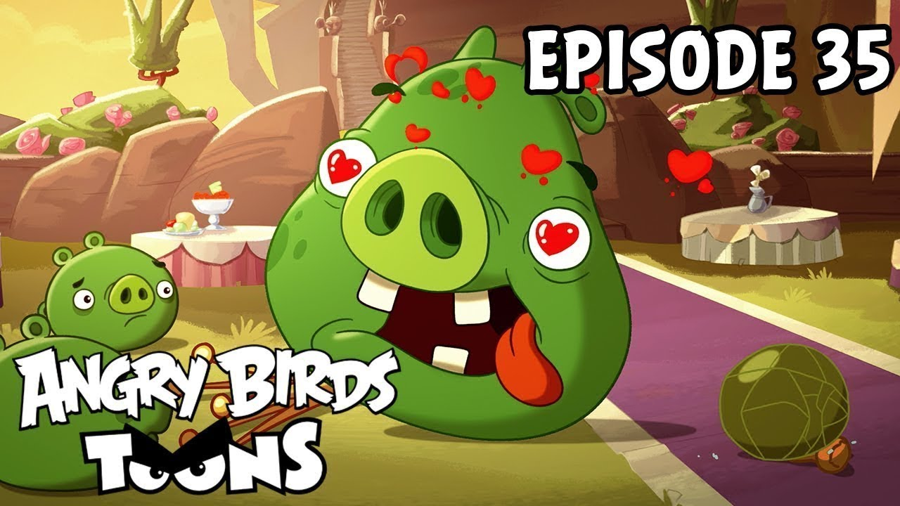 Angry Birds Toons | Love is in the Air – S1 Ep35