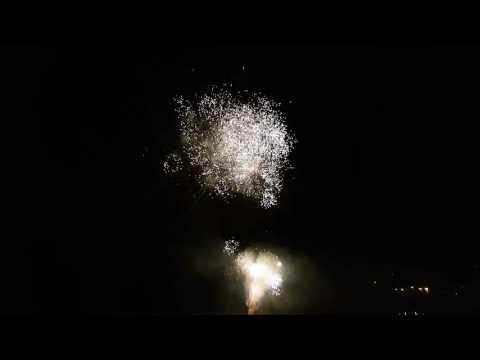 Feux d'artifice a la roque Gageac 2017