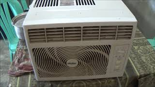 Cleaning Our Bedroom AC Unit