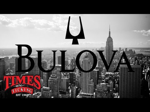 The History Of The Bulova Watch Company