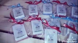 Свадебные бонбоньерки-оригинальные подарки для гостей.