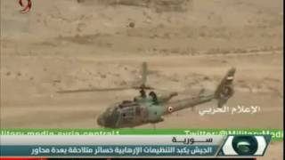الجيش العربي السوري يكبد التنظيمات الإرهابية خسائر متلاحقة بعدة محاور