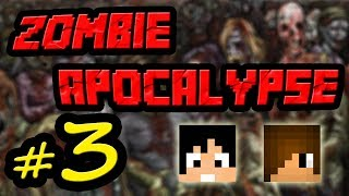 Tackle⁴⁸²⁶ Minecraft Custom Map - Zombie Apocalypse #3 (รันทดในท่อน้ำ)