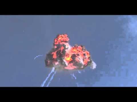 Azeri Helikopterin düşme anı..azerbaycan helicopter crashed..