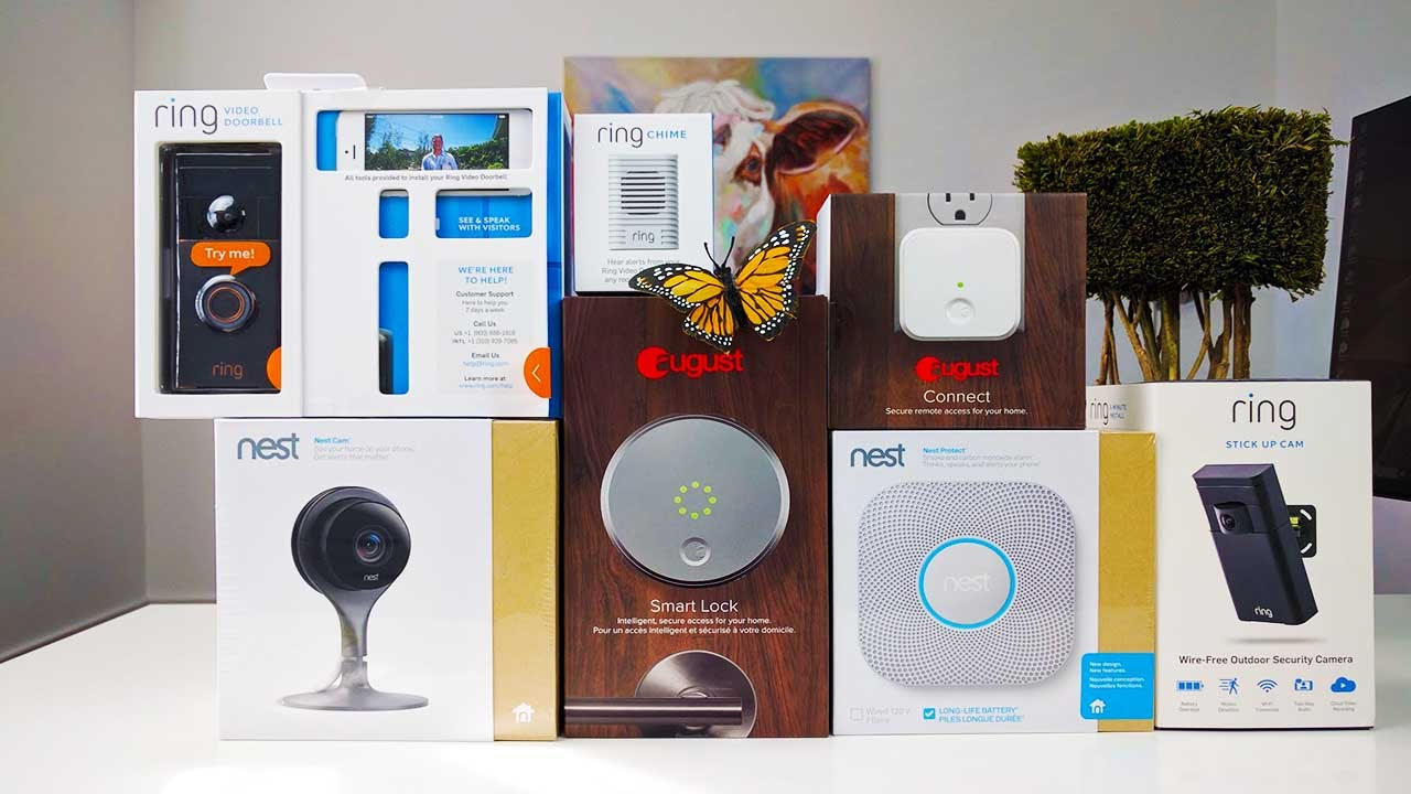 Best Smart Home Technology Mesmerizing The Best Smart Home Tech To Keep Your Home Safe  Youtube Design Ideas