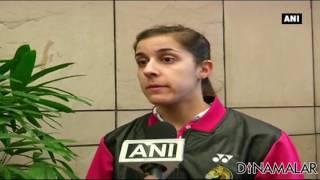 Olympic Gold Medallist Carolina Marin Shocked