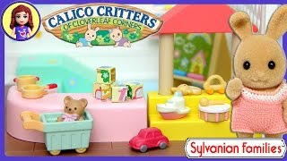 Sylvanian Families Calico Critters Toy Shop Unboxing Review and Setup - Kids Toys