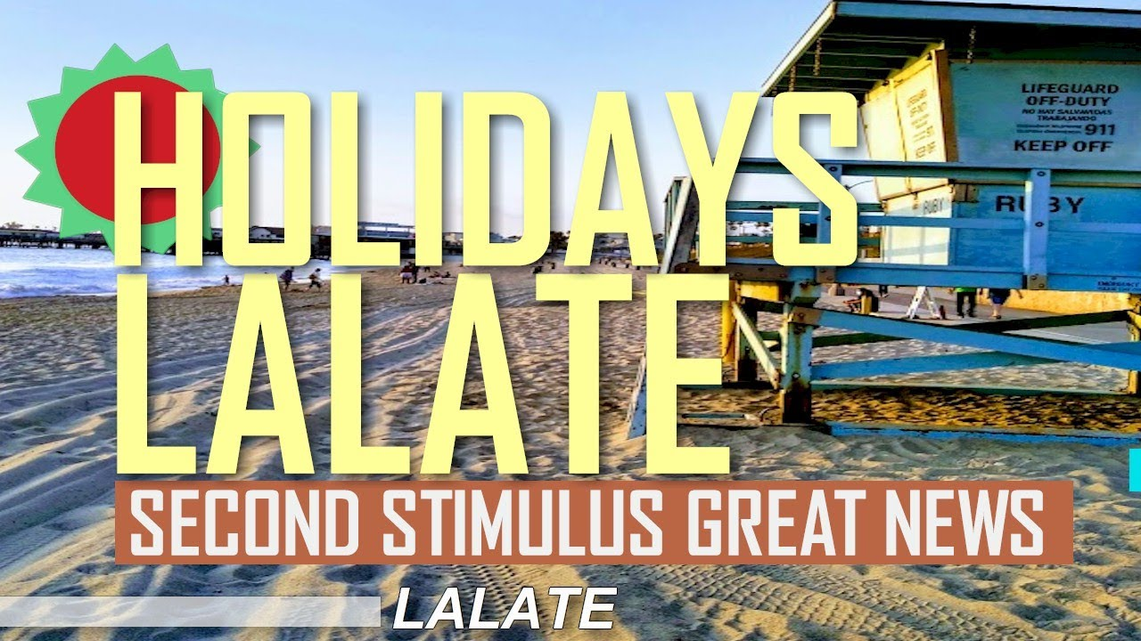 SECOND STIMULUS CHECK, Second Stimulus Package Update, Stimulus Money RIGHT NOW !! | HOLIDAYS LALATE - download from YouTube for free