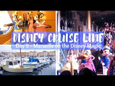 DISNEY CRUISE LINE VLOGS | Last day and exploring Marseille | Day 9