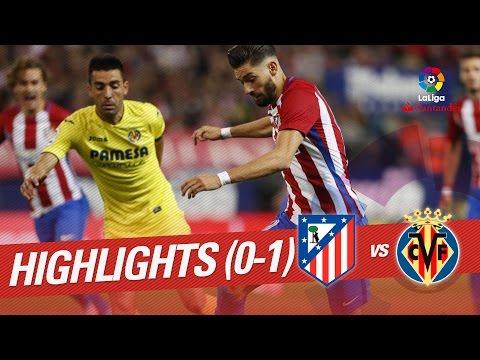 Resumen de Atlético de Madrid vs Villarreal CF (0-1)