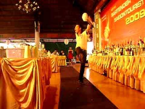 VietNam Bartender Caravelle Flair SaiGon Tourist Cup 2009 Ho Hoang Huy