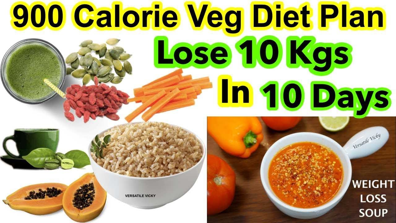 900 Calorie Indian Diet Plan For Weight Loss