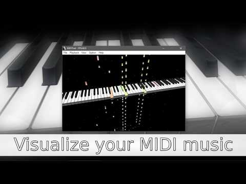 MIDITrail - Visualize your MIDI music