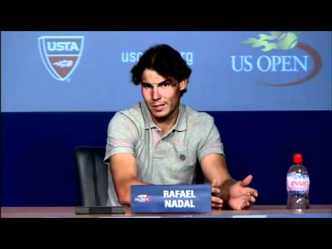 2011 US Open Press Conferences: Rafael Nadal (Third Round)