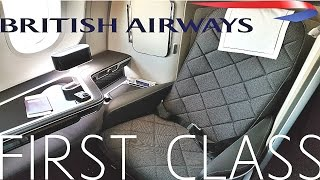 FLIGHT REPORT|BRITISH AIRWAYS FIRST CLASS|BA 787-9