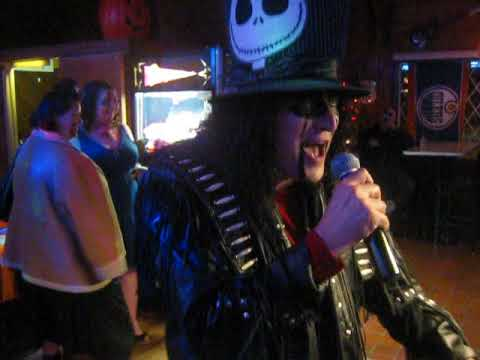 DUSTERS KARAOKE - Cover of ALICE COOPER - Poison by DJ Robby