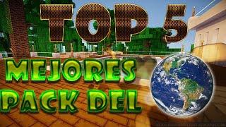 TOP 5 MEJORES PACK DE TEXTURAS DEL MUNDO 1.8.7-1.8 + DESCARGA