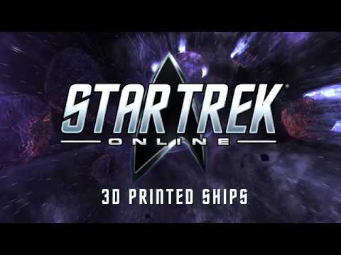 3D Print Your Favorite Star Trek Ships with Star Trek Online!