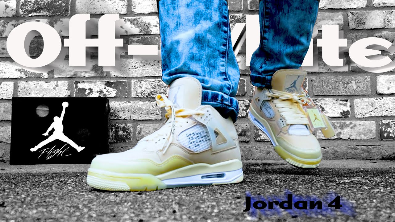 Off-White Jordan 4, the best release of the year? cross da water review ( DHGATE ALTERNATIVE )