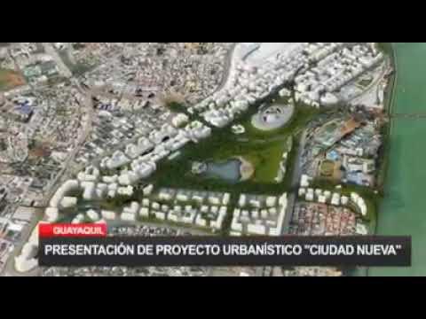 """Proyecto urbanístico en Guayaquil """"Ciudad Nueva"""""""